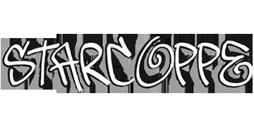 homepage Starcoppe - Grafica creativa